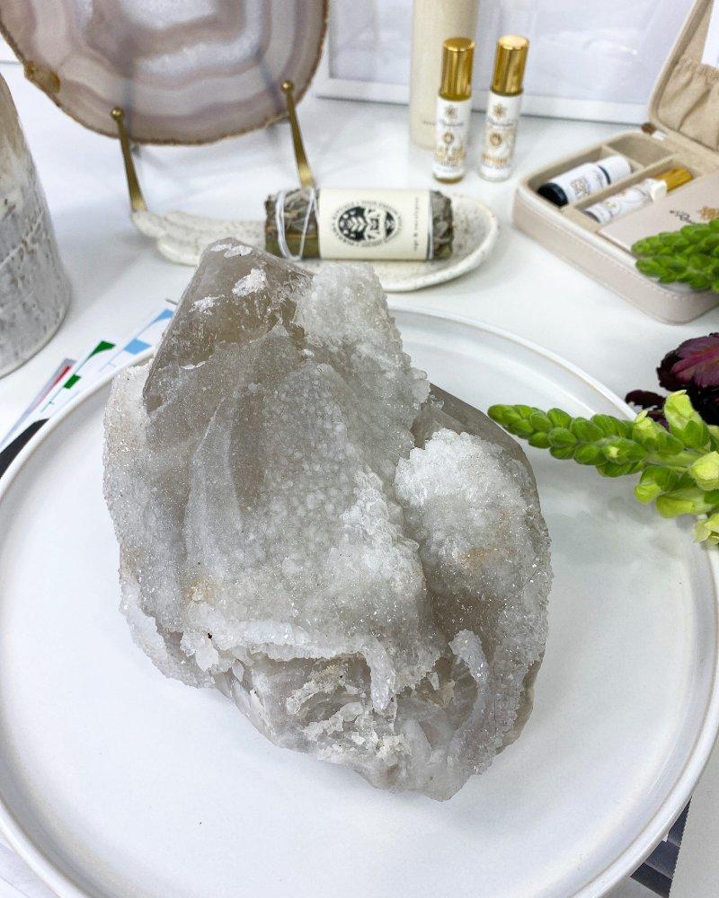 Krystal křišťálu surový Brazílie