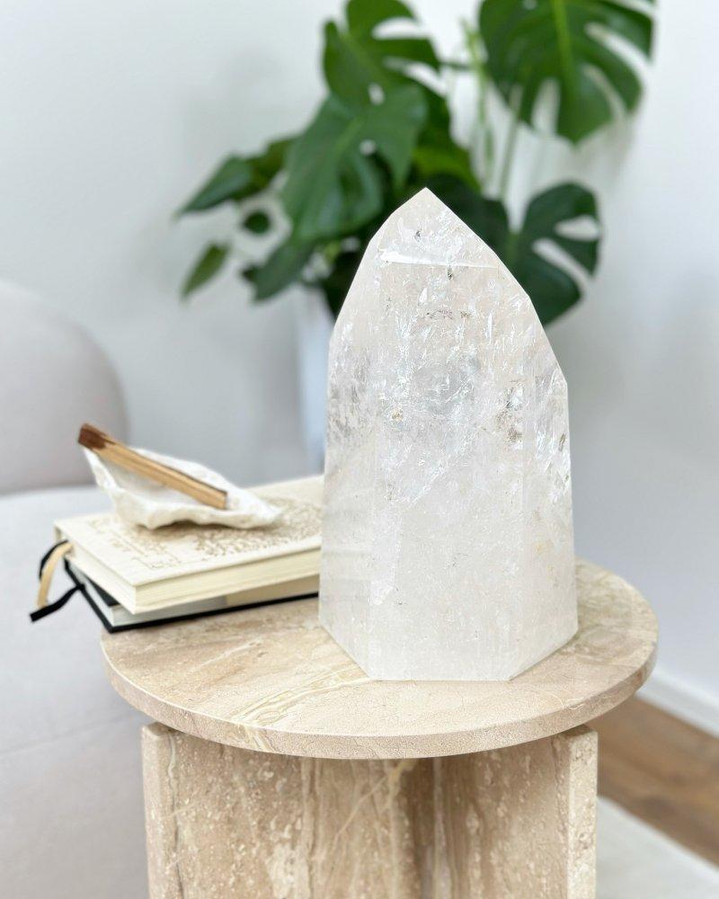 Krystal křišťál špice surová Brazílie 105g