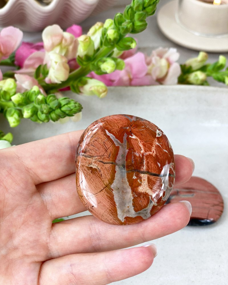 Oceánský jaspis tromlovaný kámen 80g