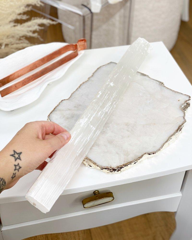 Selenit masážní tyčky 30cm Maroko