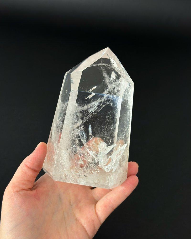 Křišťálová špice krystal broušený Brazílie AAA 66g