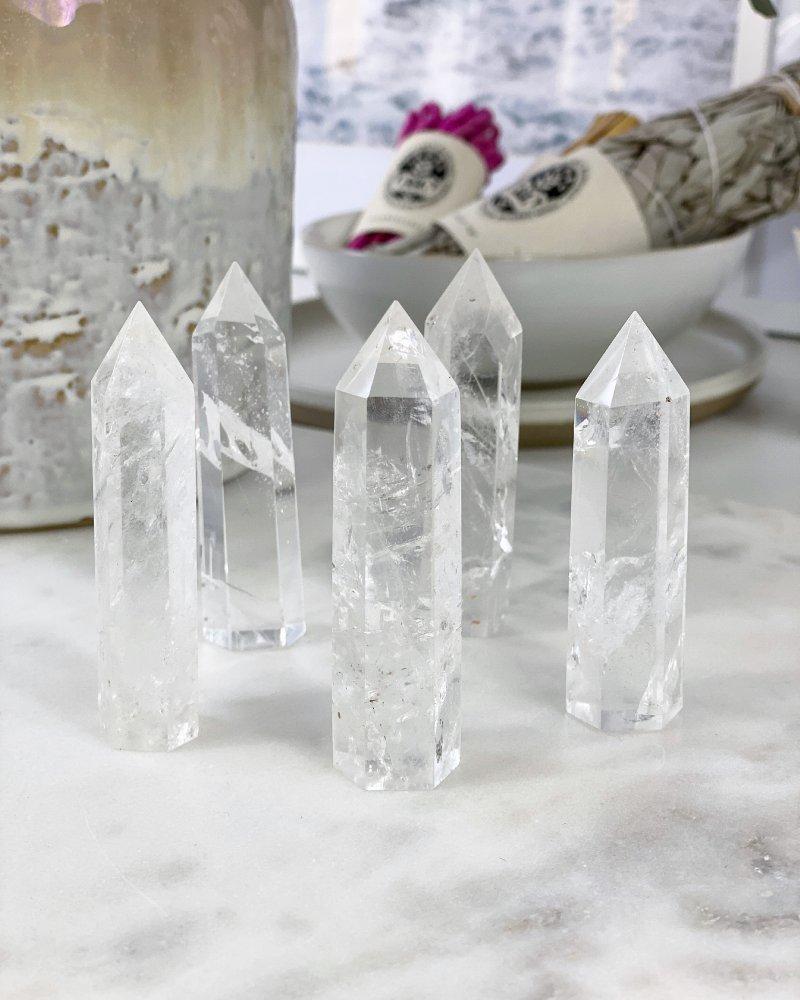 Křišťálový krystal broušený Madagaskar 7cm