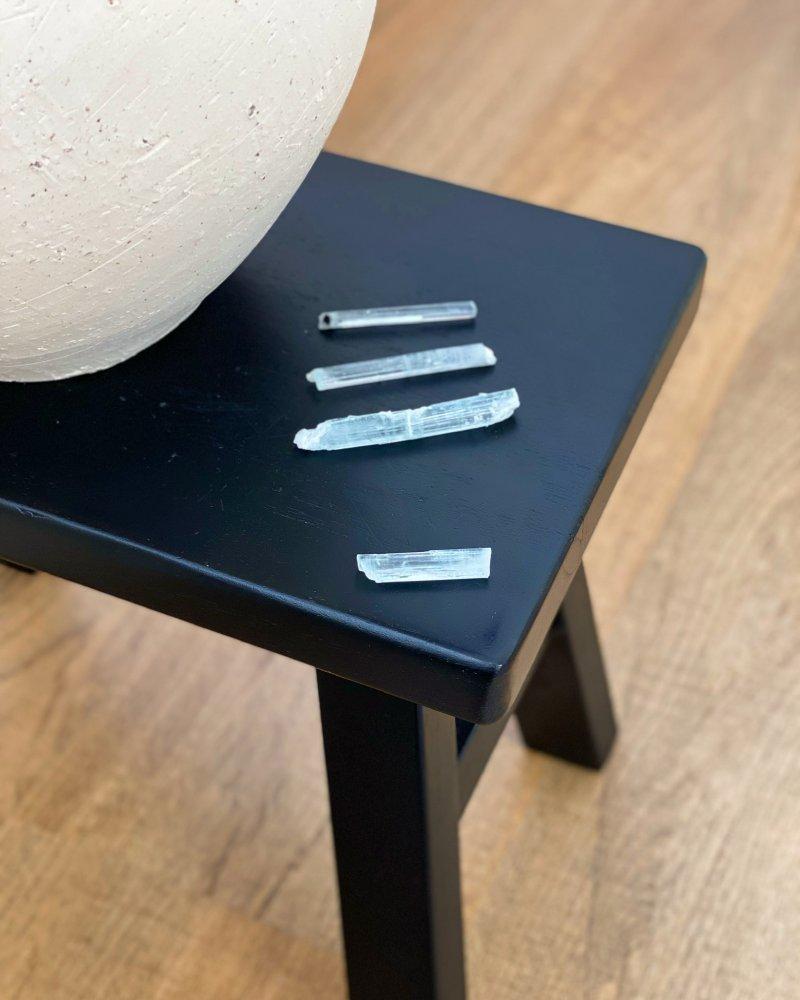 Akvamarín surový čirý krystal AAA Pákistán 3g