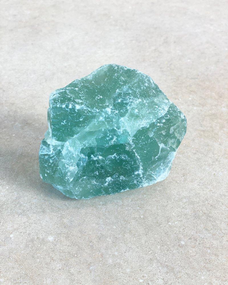 Fluorit zelený surový extra Čína 135g