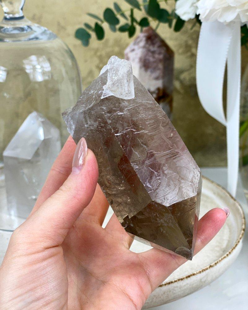 Krásný krystal surový záhněda Brazílie 901g TOP
