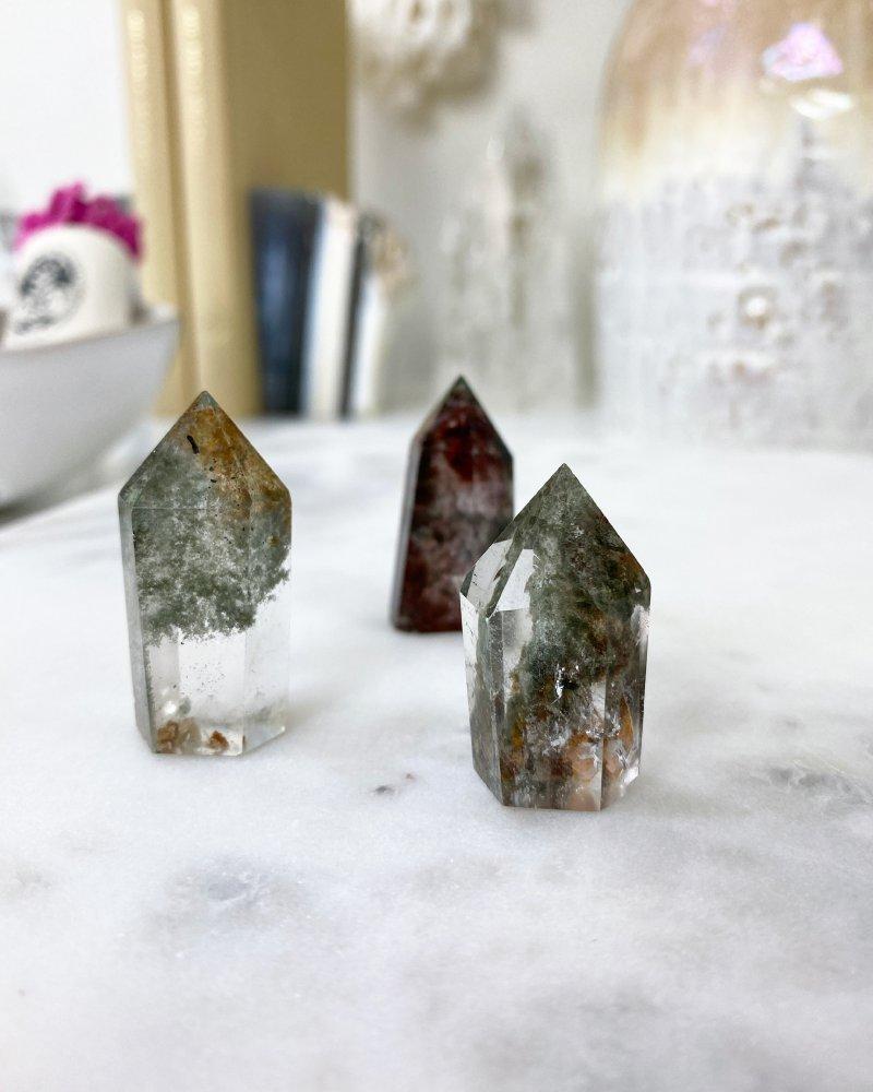 Křišťálový krystal green phantom 3cm