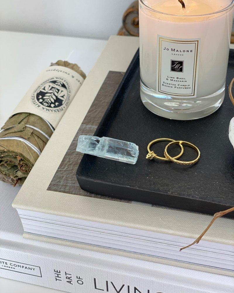 Akvamarín čirý krystal AAA Pákistán 12g