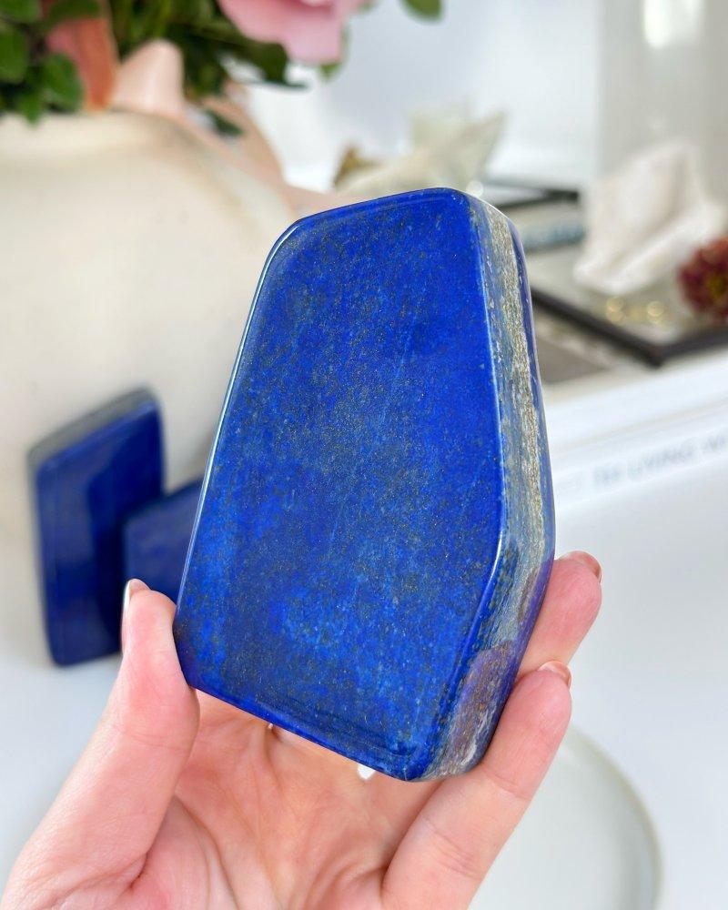 Lapis lazuli tromlovaný polodrahokam Afganistan 38g