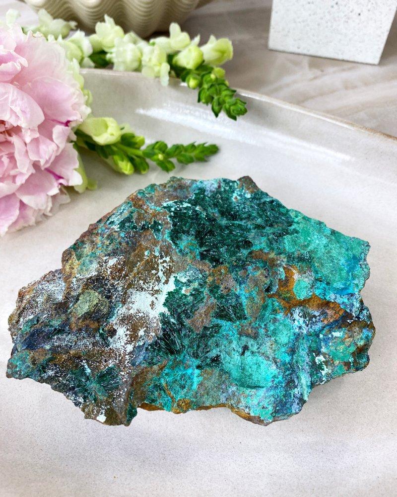 Atacamit krystaly Atacama Chille 15cm 768g