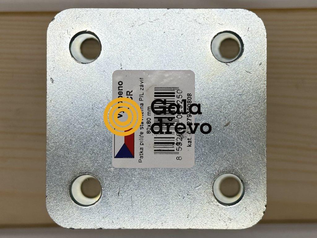 2020 05 02 19 53 07 patka pilíře P L, 100x100 M20 120 170, galvanický zinek HPM TEC, s.r.o.