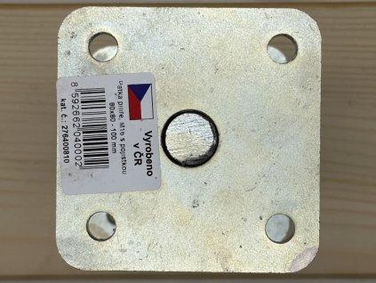Patka pilíře s pojistkou 80x80 - 100 mm