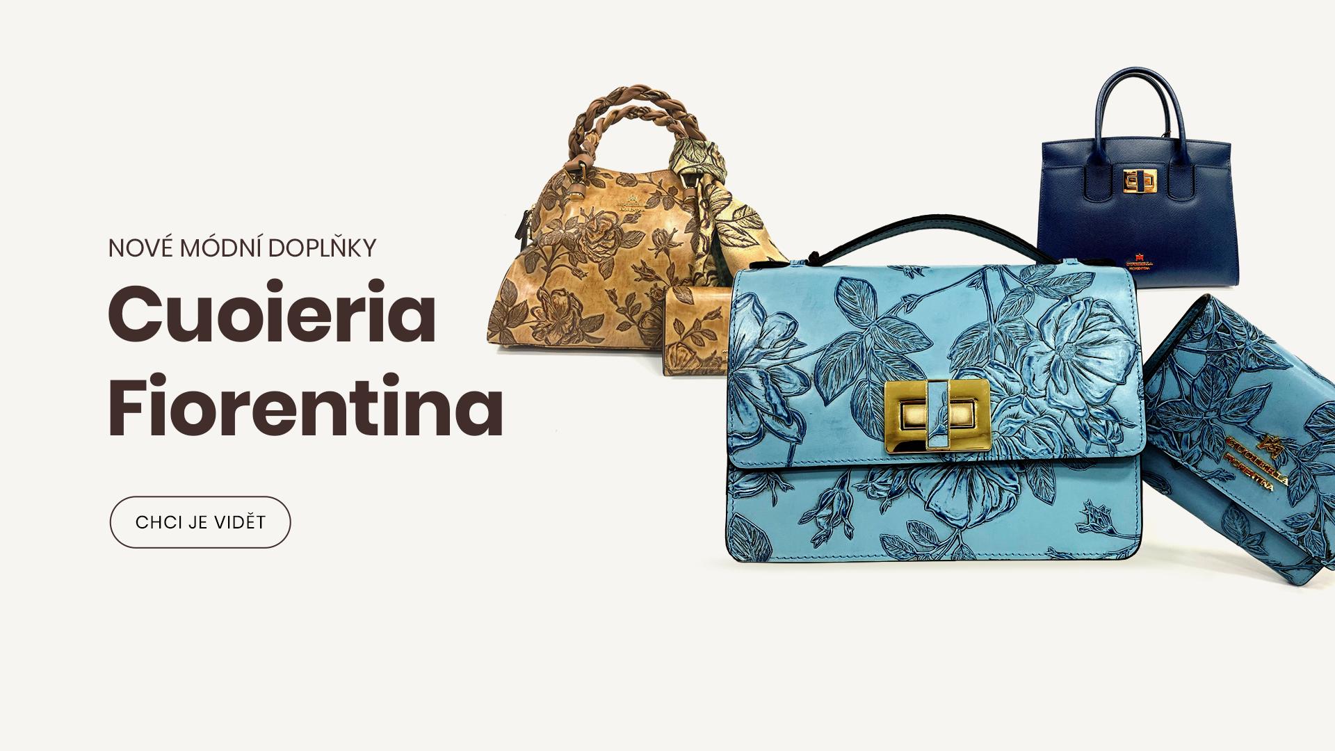produkty značky Cuoieria Fiorentina