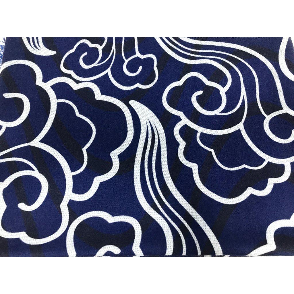 Šátek s kašmírem