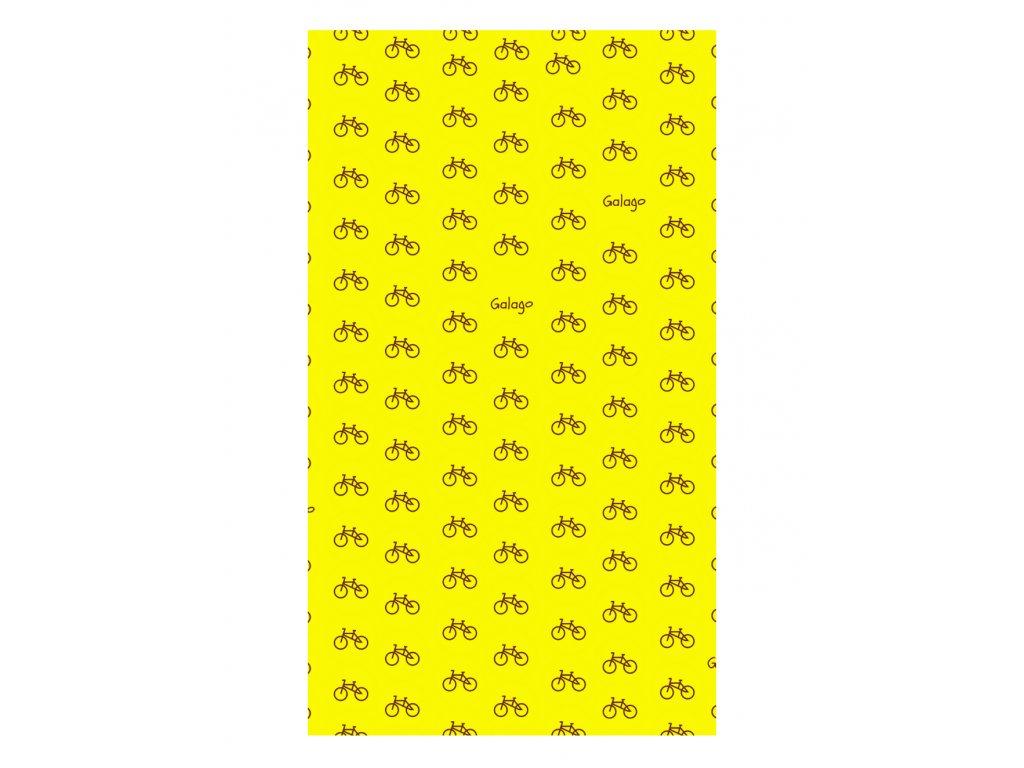 Nákrčník s obsahem stříbra - Žlutá kola
