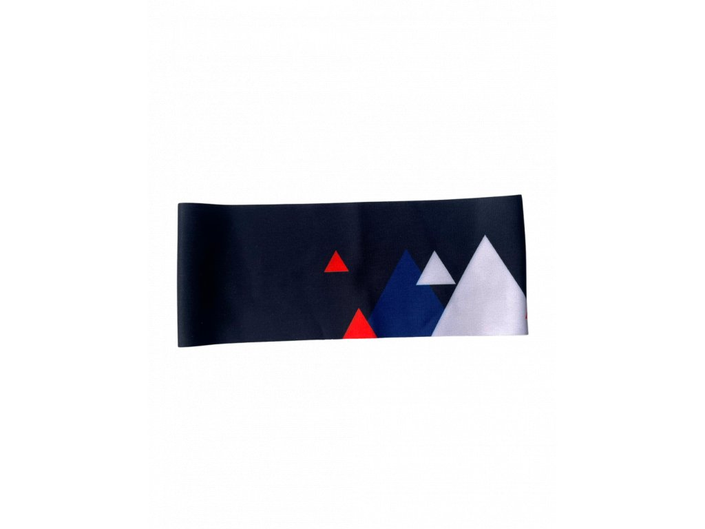 Funkční čelenka - Trojuhelníky