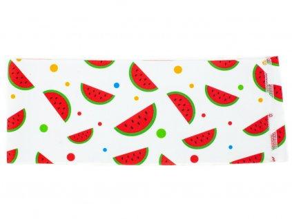 Dětská sportovní čelenka meloun