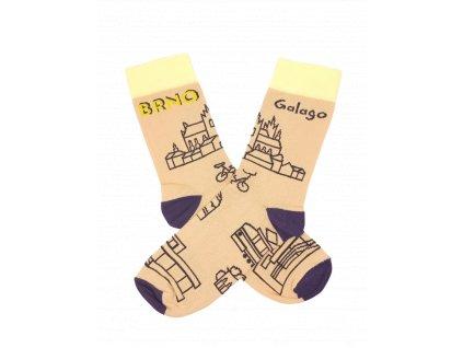 Ponožky jako Brno