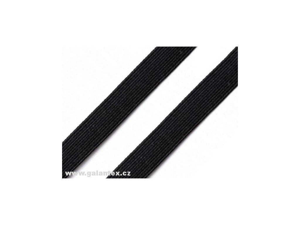 Pruženka plochá 20 mm - černá