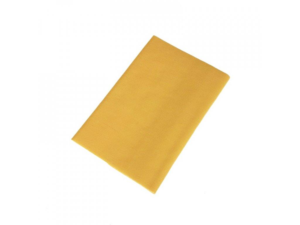 Zažehlovací záplaty kepr - žlutá