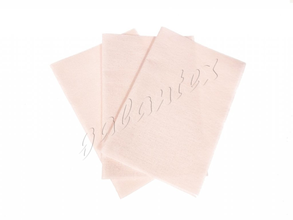 Zažehlovací záplaty plátno - růžová světlá