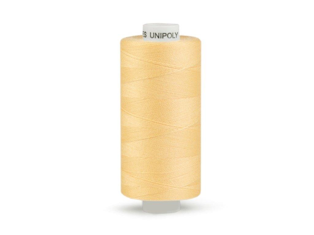 Šicí nit Unipoly 120 návin 500 m / 172 - oranžovožlutá