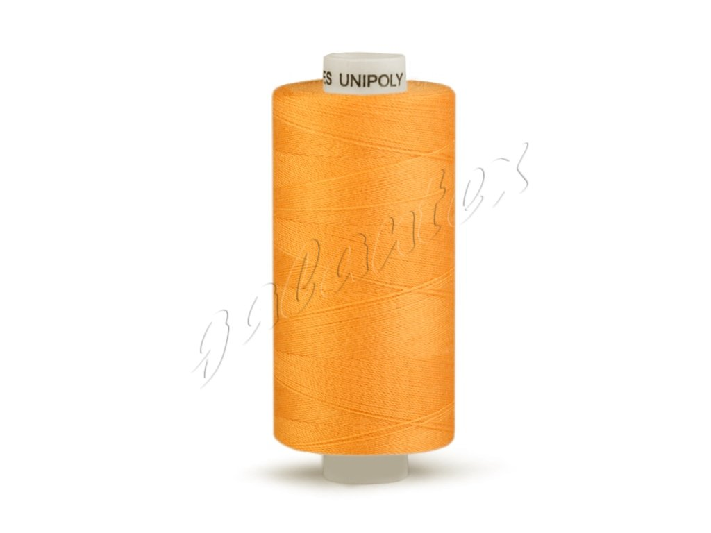 Šicí nit Unipoly 120 návin 500 m / 178 - žlutooranžová