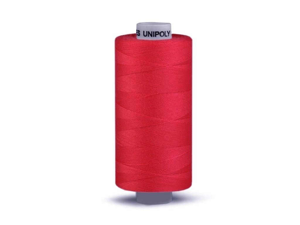 Šicí nit Unipoly 120 návin 500 m / 343 - fialčervená