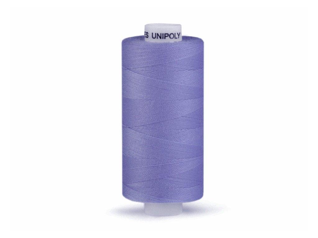 Šicí nit Unipoly 120 návin 500 m / 534 - tmavá modrofialová