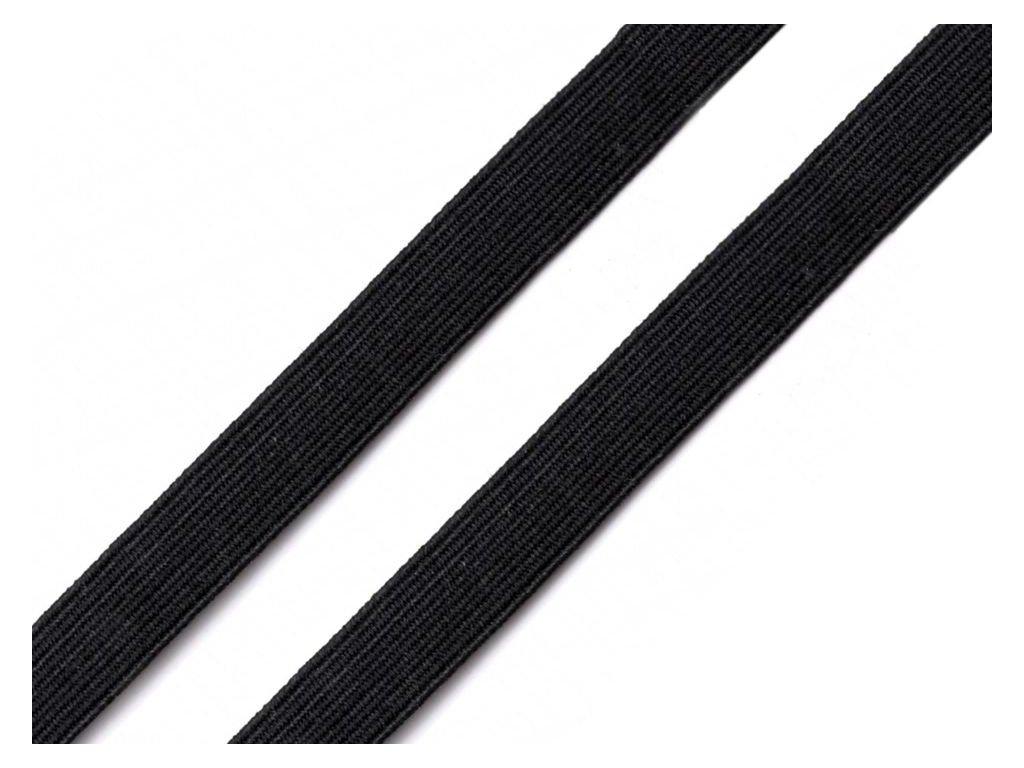 Pruženka prádlová 8 mm - černá