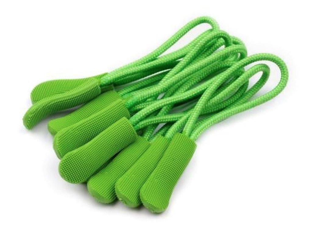 Poutko / taháček na zip - zelená