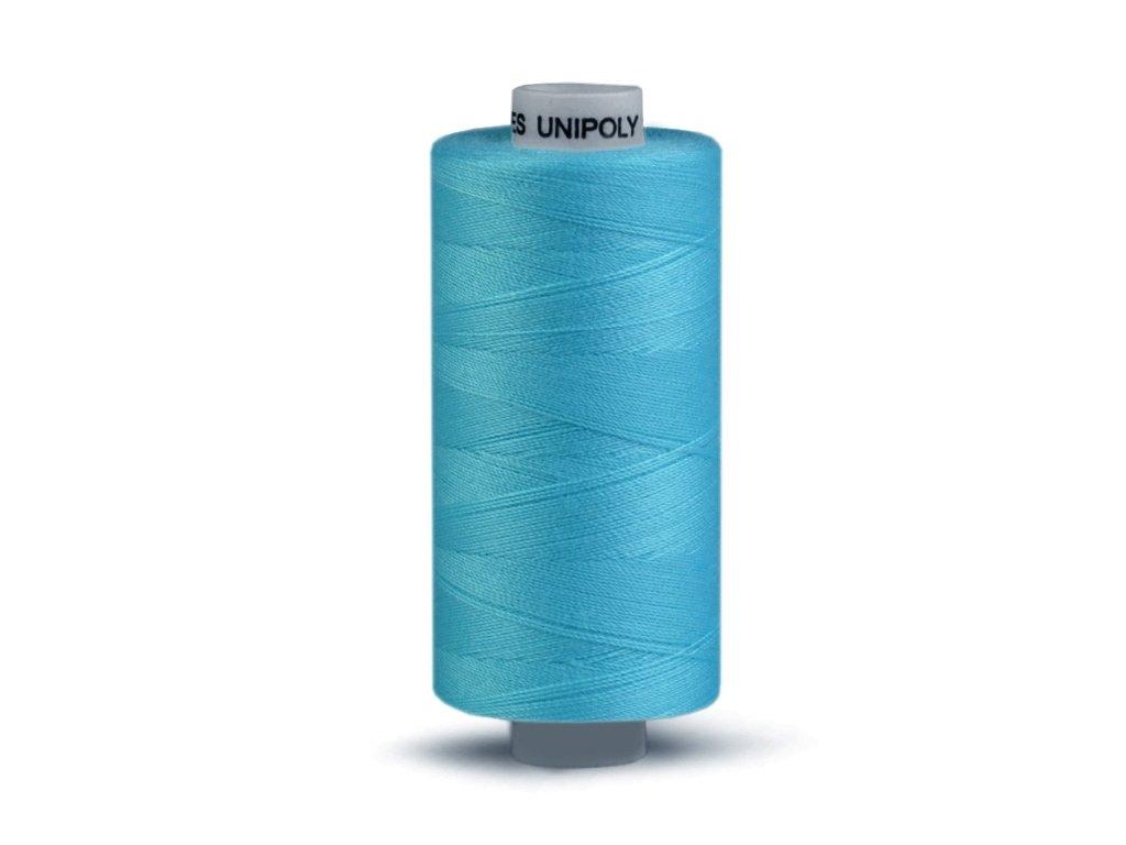 Šicí nit Unipoly 120 návin 500 m / 653 - papouščí modř