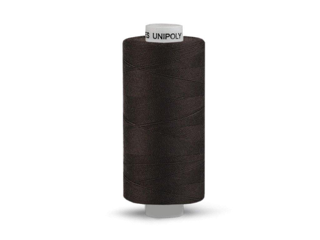 Šicí nit Unipoly 120 návin 500 m / 779 - temně hnědá