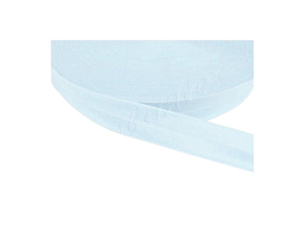 Pruženka lemovací šíře 20 mm - modrá světlá