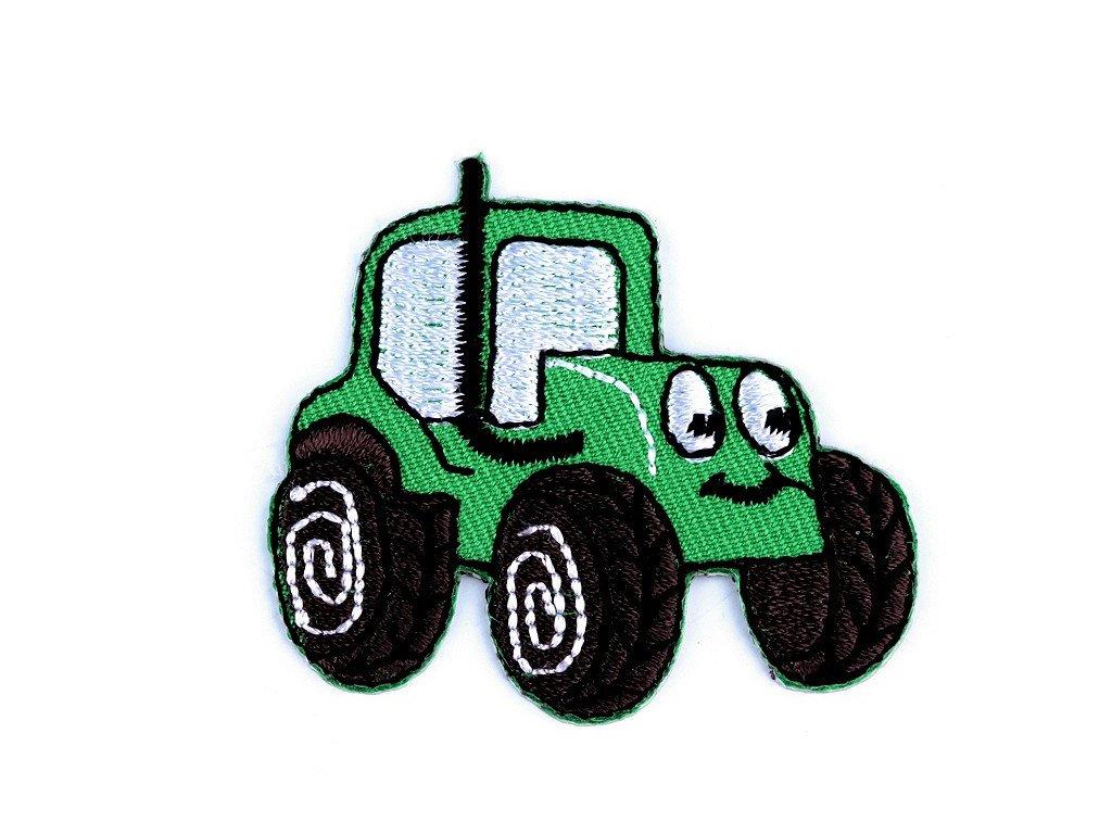 Nažehlovací aplikace - Traktor zelený