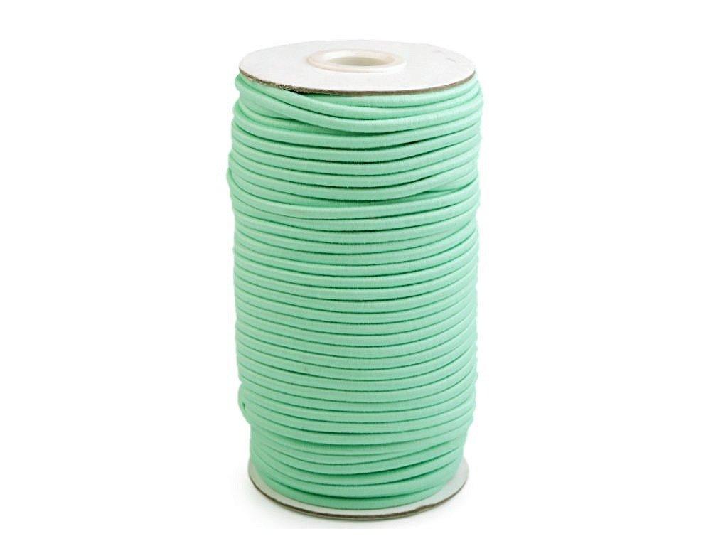 Klobouková guma 3 mm - mentol