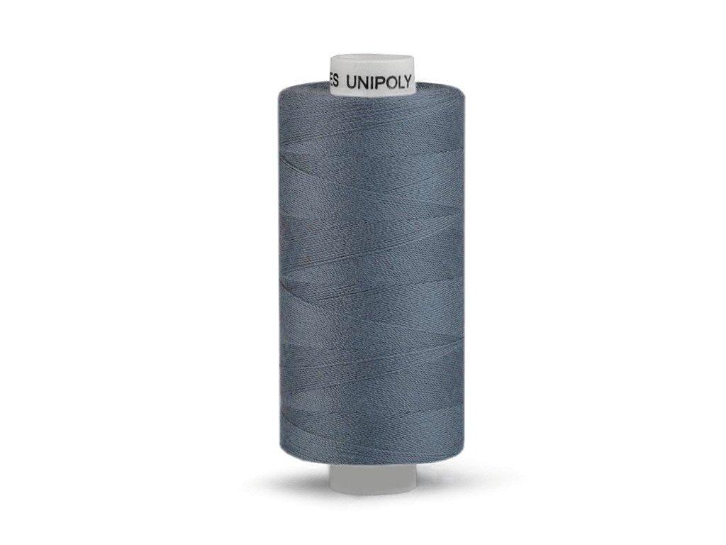 Šicí nit Unipoly 120 návin 500 m / 857 - modrošedá