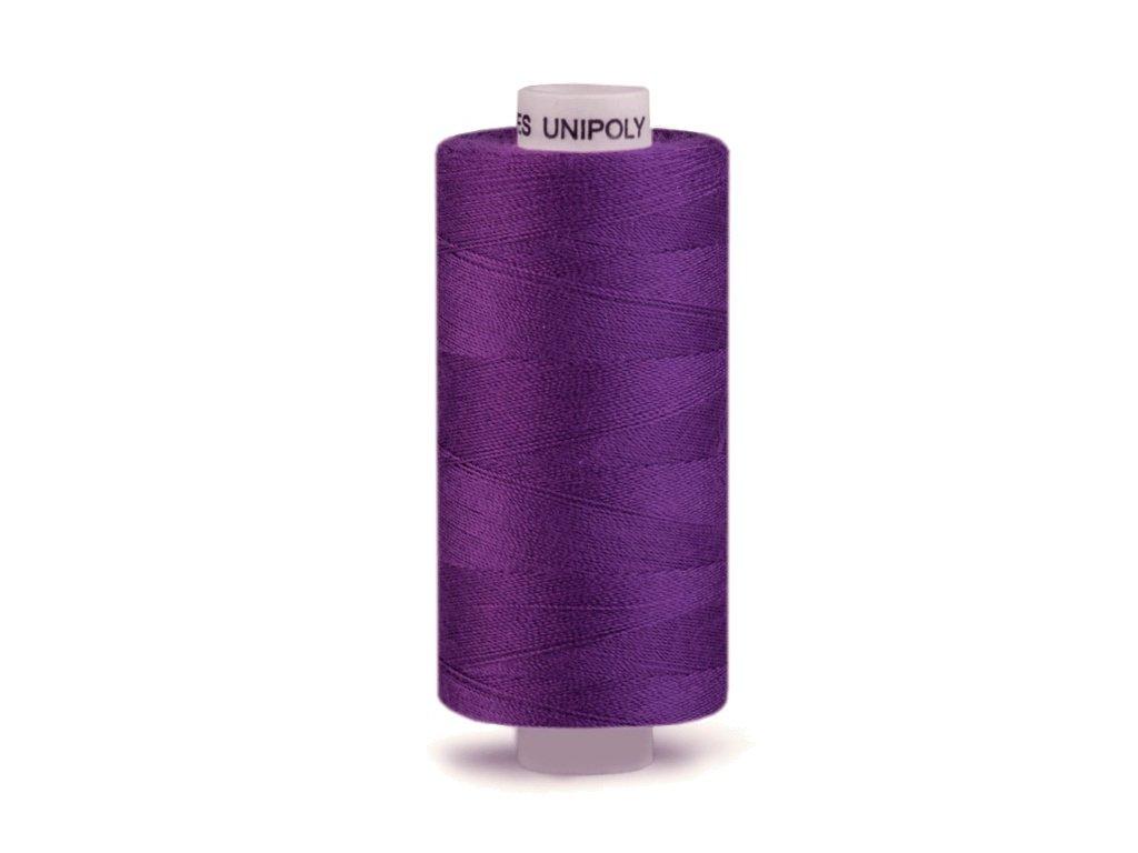 Šicí nit Unipoly 120 návin 500 m / 457 - fialová