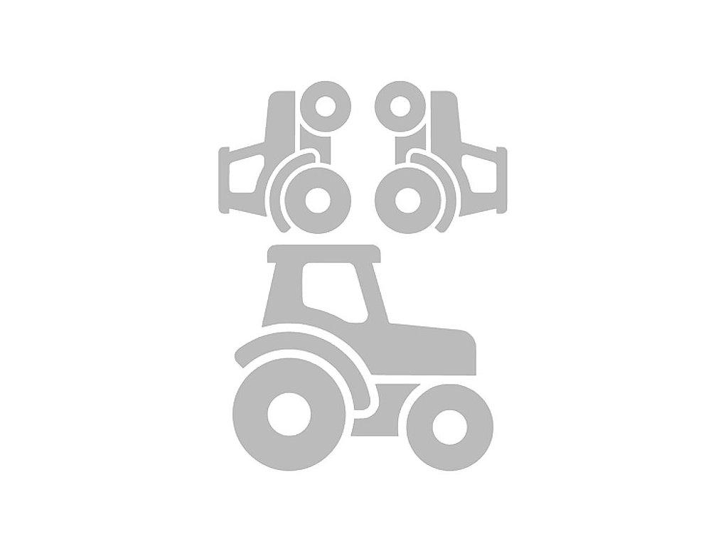 Reflexní nažehlovací potisk - traktor I (3 kusy)