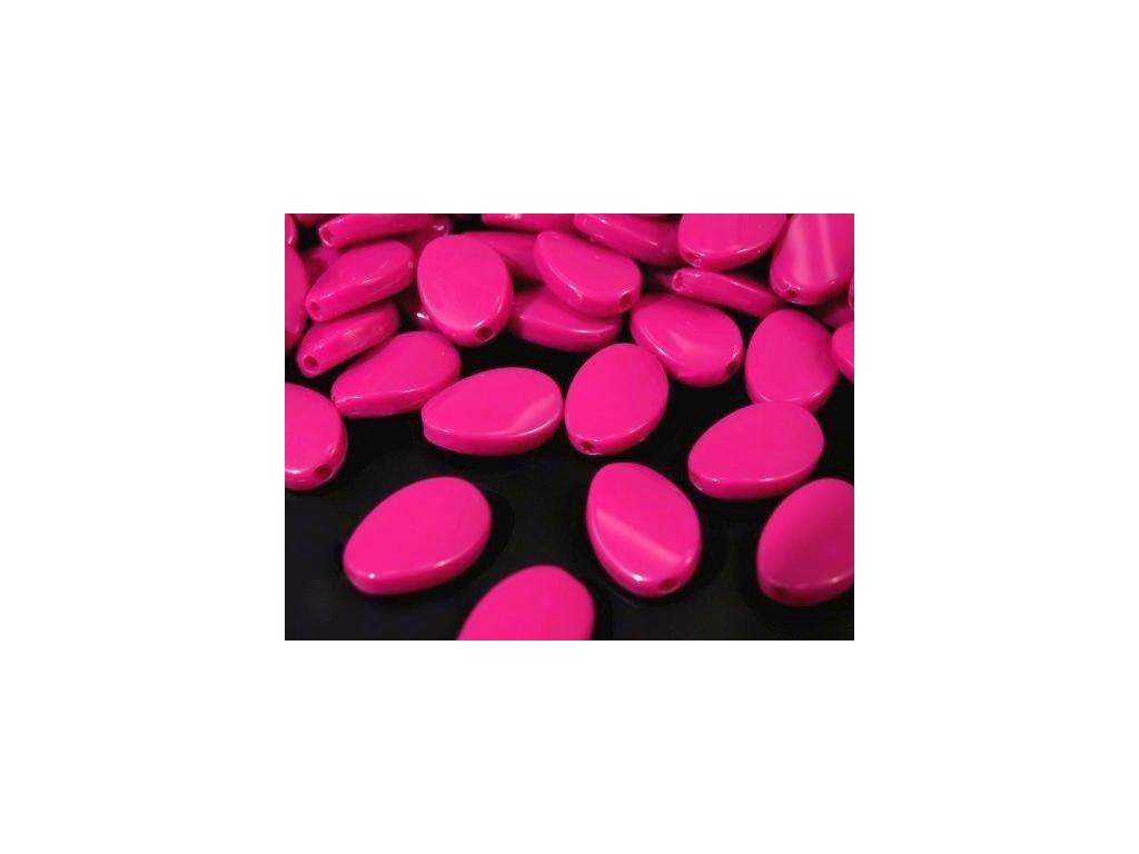 Korálky plastové 12x17mm Vrtulka (10ks)  - růžové