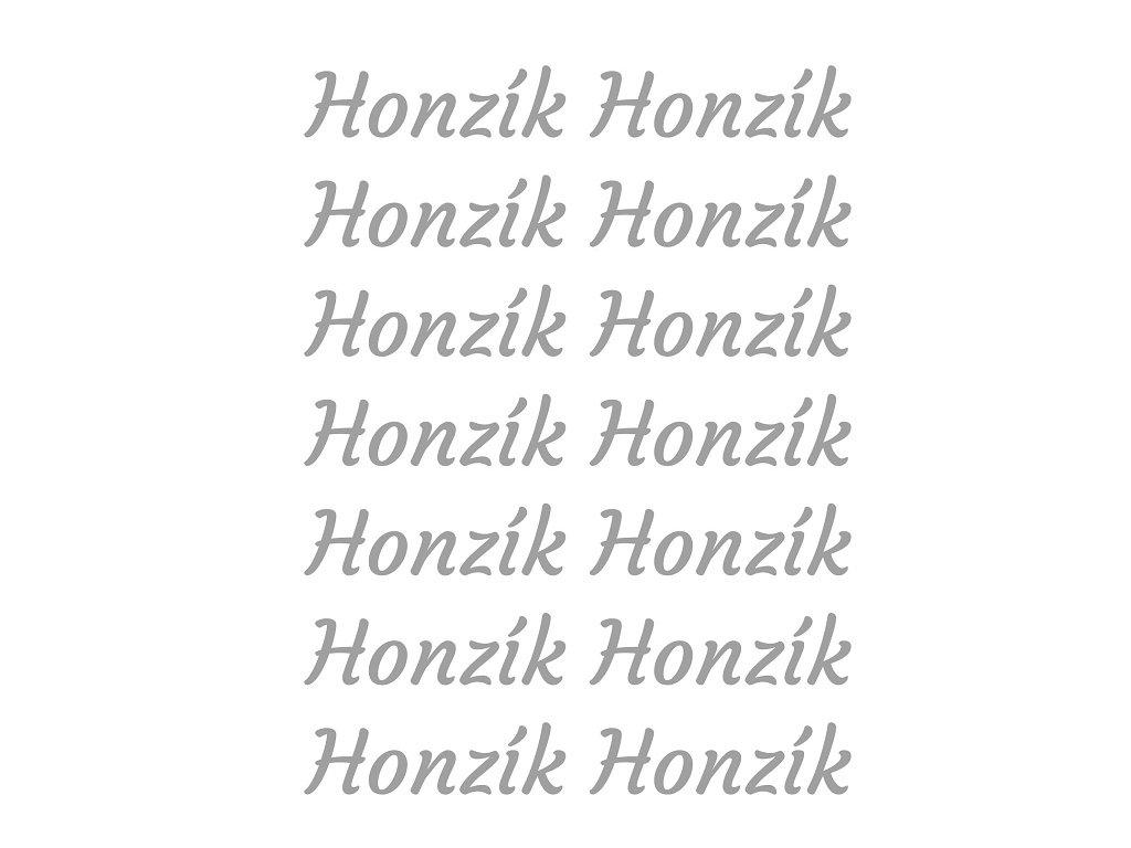 Reflexní nažehlovací potisk - jméno na přání - Galantex bde55a2441
