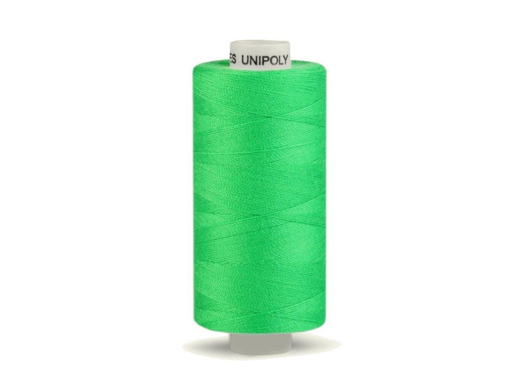 Šicí nit Unipoly 120 návin 500 m / 622 - světle zelená