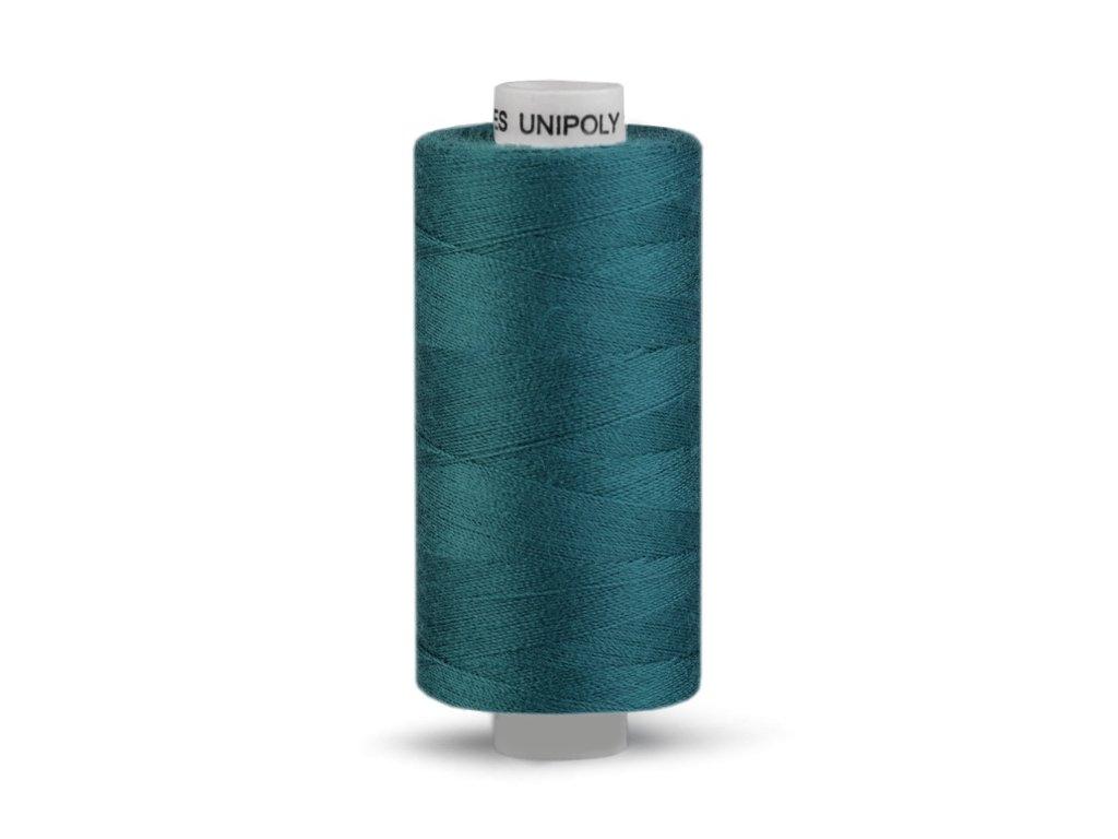 Šicí nit Unipoly 120 návin 500 m / 568 - mořská modř