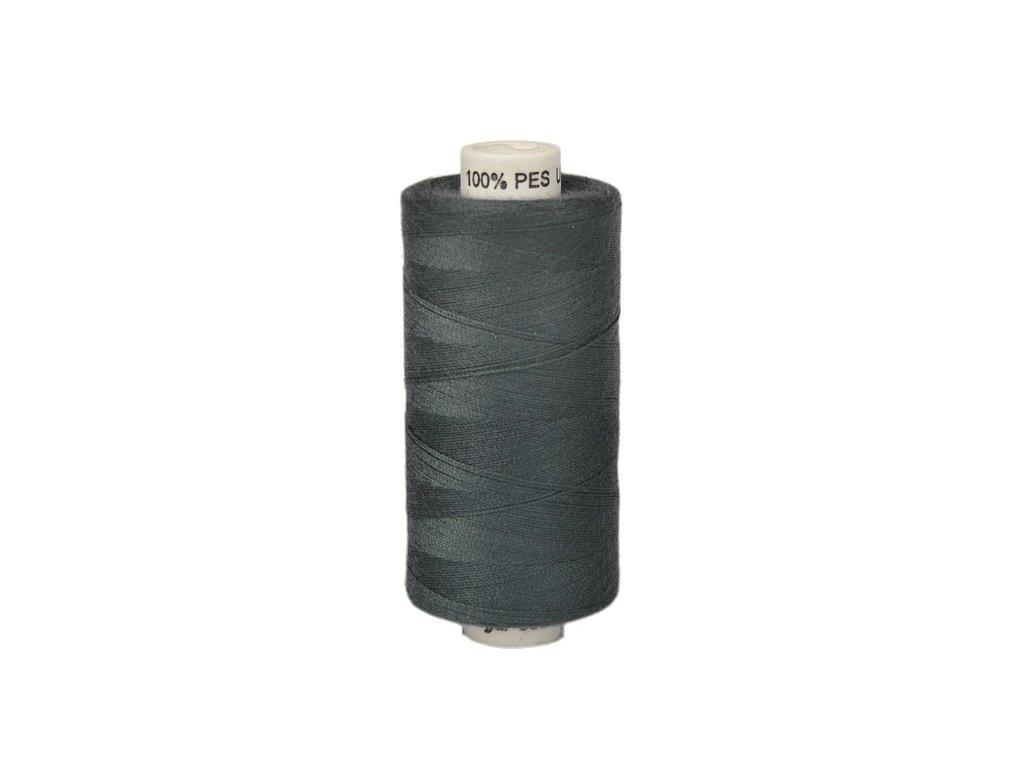 Šicí nit Unipoly 120 návin 500 m / 888 - temně šedá