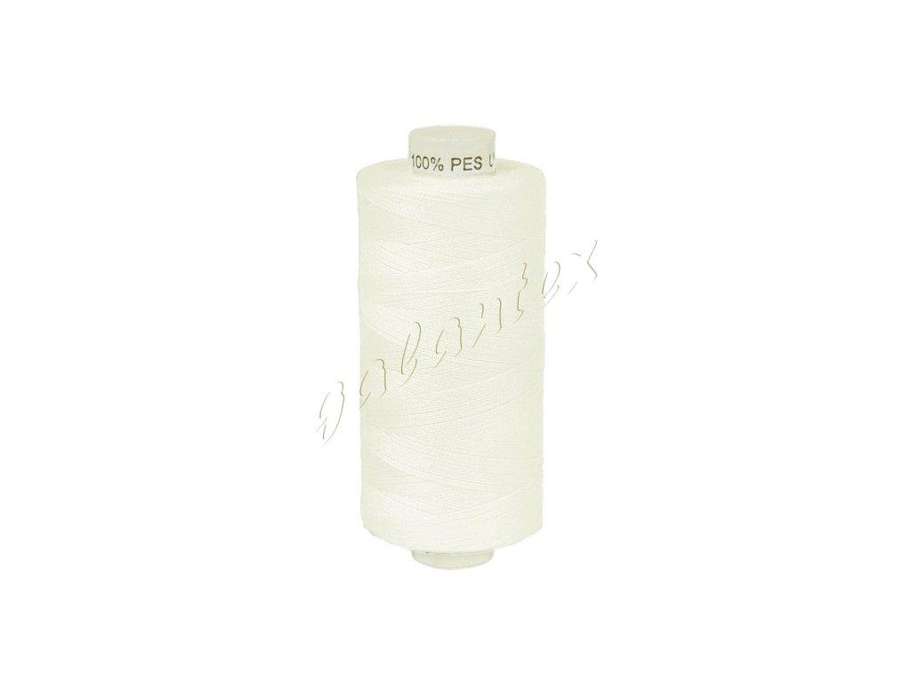 Šicí nit Unipoly 120 návin 500 m / 010 - krémově bílá