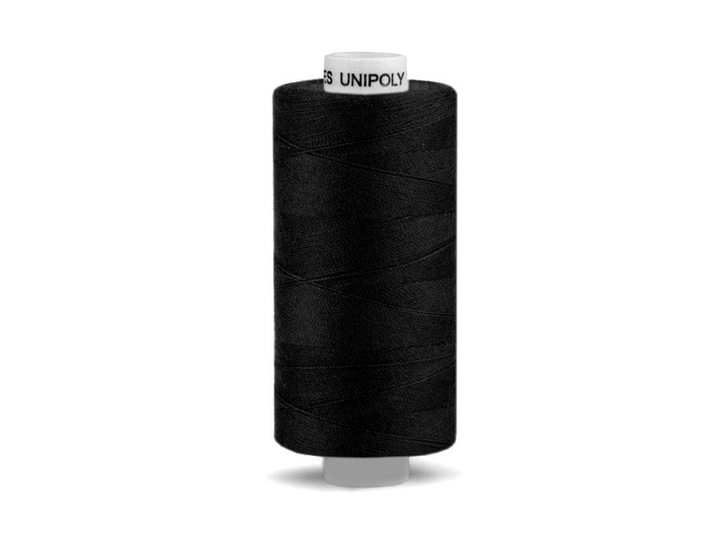 Šicí nit Unipoly 120 návin 500 m / 999 - černá