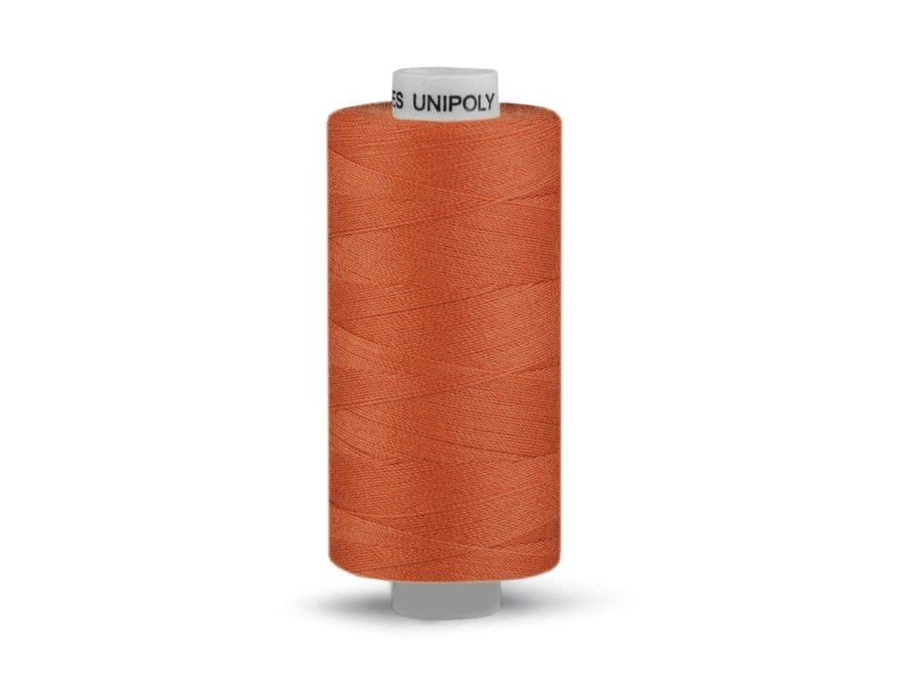 Šicí nit Unipoly 120 návin 500 m / 275 - červenohnědá