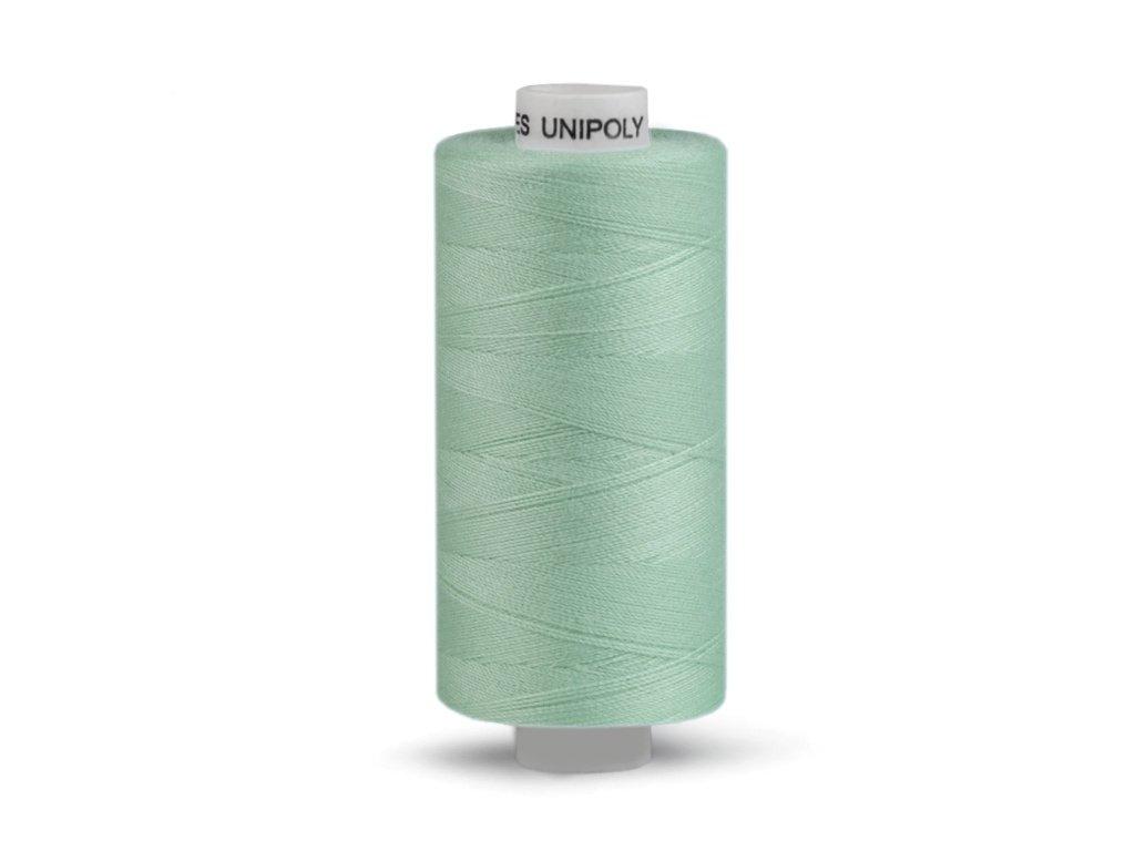 Šicí nit Unipoly 120 návin 500 m / 673 - šedozelená