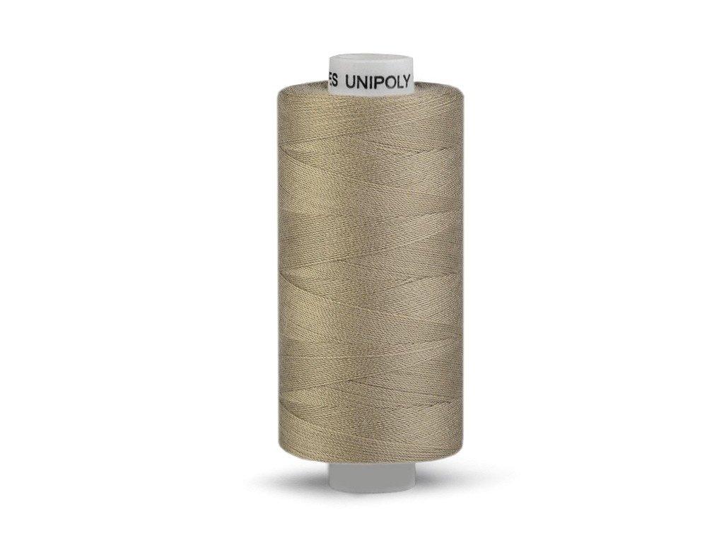 Šicí nit Unipoly 120 návin 500 m / 772 - tmavě béžová