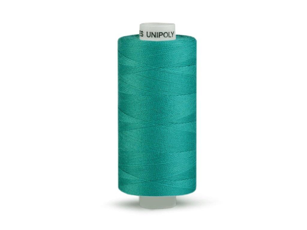 Šicí nit Unipoly 120 návin 500 m / 626 - paví zeleň