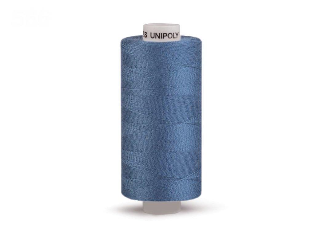 Šicí nit Unipoly 120 návin 500 m / 545 - modrá